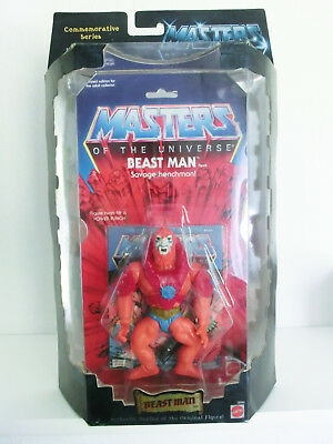 Masters Of The Universe Beast Man Commemorative Actionfigur Mosc Neu  He Man
