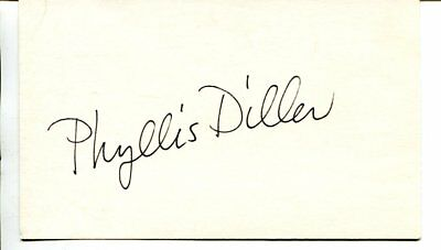 PHYLLIS DILLER autograph SIGNED 915