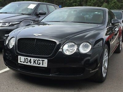 04 Bentley Continental Gt 6.0 W12 Coupe *black, Auto, 12 Services, Nav, Leather*