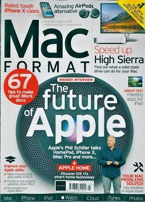 Mac Format Magazine Issue #323 March 2018 ~ New ~