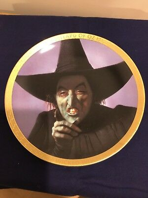 Portraits from Oz Collector's Plate - Wicked Witch of the West