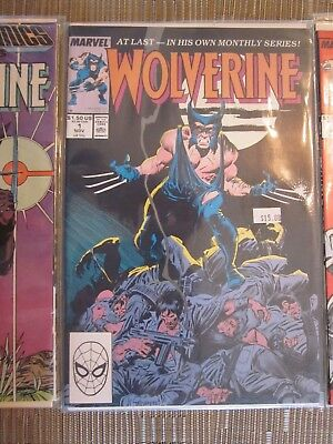 Wolverine Lot 1-4 and Marvel Comics Presents Wolverine 1 (1988)