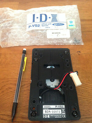 IDX V Plate with Syncron P-VS2 V Mount w/power tap serial B2A-00973