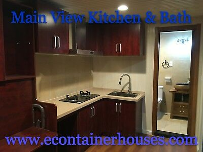 Luxury NEW 20 Ft. Tiny/Container Home, Lovely Interior/Kitchen/Full Bath