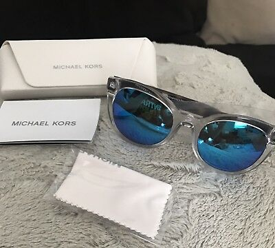 New AUTHENTIC Michael Kors Mirrored Round Sunglasses 0MK6019
