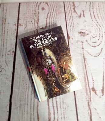 The Hardy Boys: The Clue In The Embers Book #35 1972 By Franklin W. Dixon HB