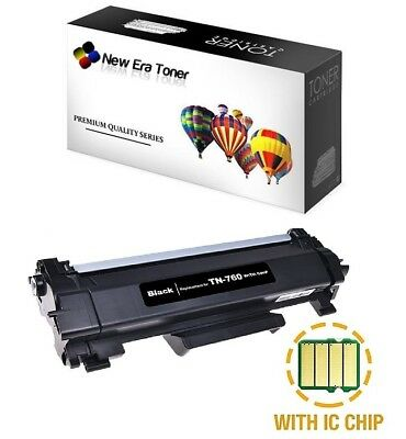Compatible Toner + Chip for Brother TN-760, HL-L2370DW, DCP-L2550DW, MFC-L2710DW