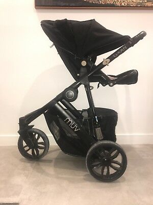 Muv Gaan Stroller with Basinet, Child Seat and Car Seat