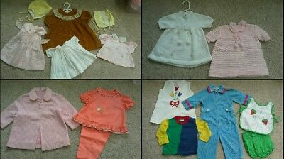Vintage toddler Girls clothes Lot 1960s Nanette Kate Greenway high endDept Store