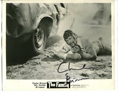 CHARLES BRONSON autograph HAND SIGNED 1219
