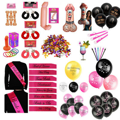 Hen Night Badge Sashe Willy Bopper Hen Party Novelty Funny Accessories Decor