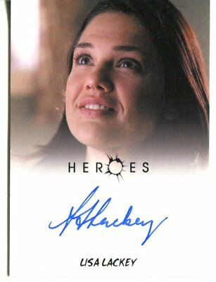 HEROES actor LISA LACKEY autograph HAND SIGNED 1232
