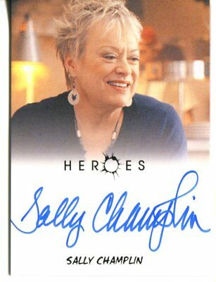 HEROES actor SALLY CHAMPLIN  autograph HAND SIGNED 1244