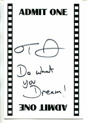 NEVERENDING STORY actress TAMI STRONACH autograph HAND SIGNED 1278