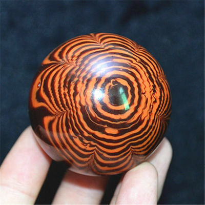 Genuine Golden Black Coral Sea Willow cure the handball Ball 50MM #AAA