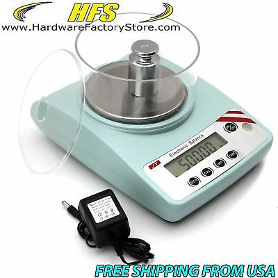 HFS(R) Jy502 - 500G X 10Mg Digital Scale Balance Lab Analytical Precision