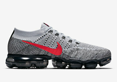 2b9efdf62a8 Nike Air Vapormax Flyknit OG Pure Platinum University Red Size 11.  849558-020