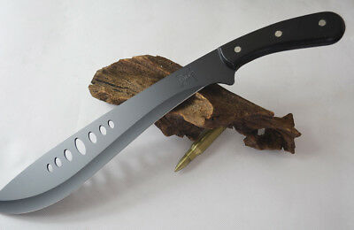 Brand New Sharp Full Tang Carbon Steel Machete Knife Sword with FREE Cover