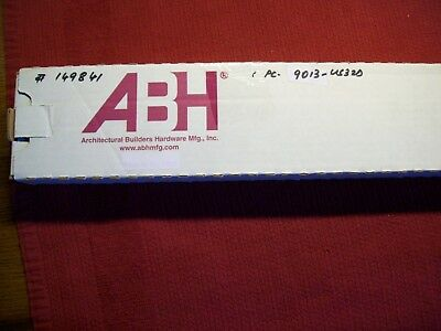 ABH 9013 US32D Heavy Duty Surface Mounted Stop NIB SATIN CHROME