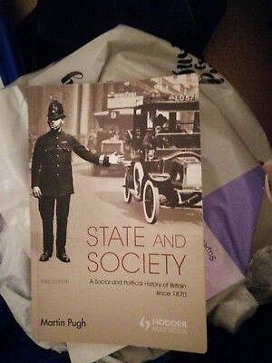 State and Society: A Social and Political History of Britain, 1870-1997 by Mart…