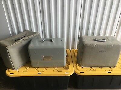 VINTAGE Bell & Howell MILITARY Tube Amplifier Amp w/ TUNGSOL 6550 - RARE (1pair)