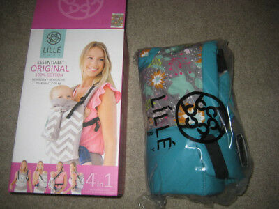 Lille Baby Essentials Original baby carrier- NEW- Lily Pad color