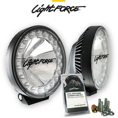 Stupendous Lightforce Htx Dl230 Hybrid 70W Hid Driving Lights With Harness And Wiring Cloud Hisonuggs Outletorg