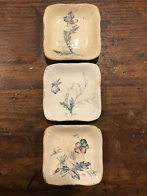 Antique Ironstone Butterpat Butter Pat John Maddock & Sons Transfer ware