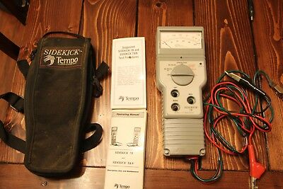 Tempo Sidekick 7B Cable Tester Used