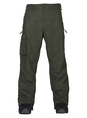 Burton Covert Pants (Forest Night Ripstop, L) Mens Unisex Trousers Ski Snowboard