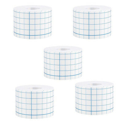 1-5x 5cmX10m Waterproof Adhesive Wound Dressing Medical Fixation Tape Bandage