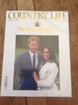 COUNTRY LIFE Magazine MAY 2018 ROYAL WEDDING COLLECTORS SPECIAL ISSUE