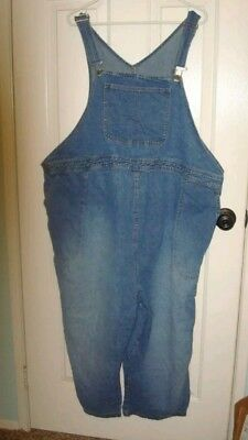 Duo Maternity Plus Size Bib Overalls 4x but more like a 2x-3x for plus size