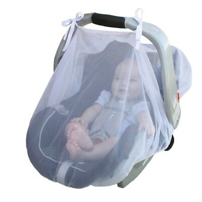 Infant Baby Stroller Pushchair Pram Mosquito Net Mesh Fly Insect Buggy Cover US