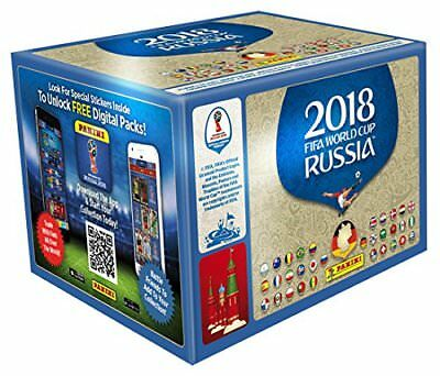 Panini WM World Cup Russia 2018 Sammelsticker 1 Display (100 Tüten) Sticker FIFA