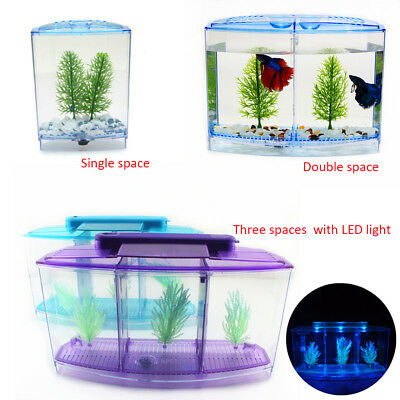 Aquarium Fish Tank Guppy Breeding Breeder Baby Fry Newborn Trap Box Hatchery New