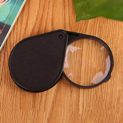 New Folding 10X Mini Pocket Jewelry Magnifier Magnifying Eye Glass Loupe Lens A+