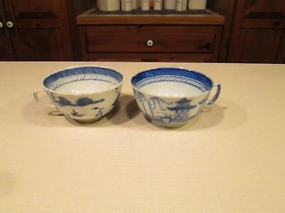 Two Canton Tea Cups