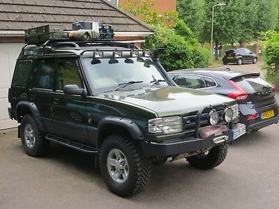 Land Rover Discovery Safari edition.  Expedition Overland vehicle.  Amazing cond