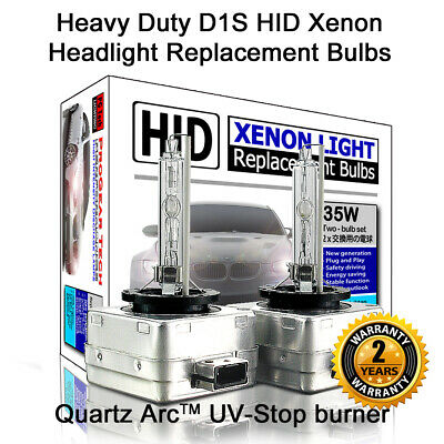 Heavy Duty D1S D1R OEM HID Xenon Headlight Replacement Bulbs (Pack of 2 bulbs)
