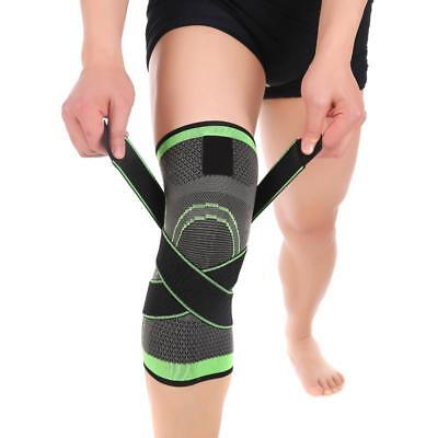 Knee Protector Brace Support Pad Sports Protect Rodilleras Leg Compression Wrap