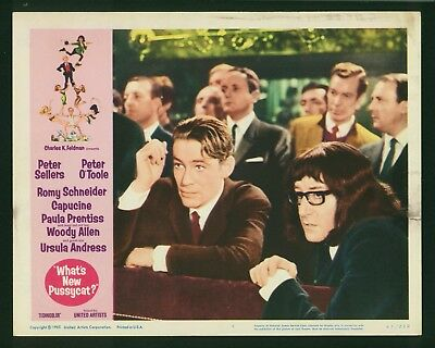 What's New Pussycat? original 1964 lobby card 11x14 Peter Sellers Peter O'Toole