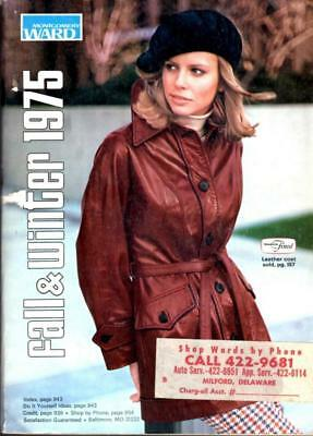 Collectible Montgomery Ward Fall & Winter Catalog 1975! Priority Ship/track!