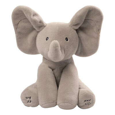 Peek-a-Boo Animated Talking and Singing Elephant Plushie Stuffed Animal