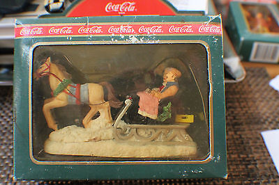 1994 Coca Cola Town And Country Collection  Sleigh Ride