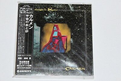 CARMEN Fandangos in Space MINI LP CD