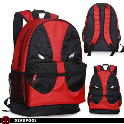 Deadpool Face Satchel Backpack Children School Book Bag Casual Shoulder