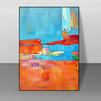 HH295 Modern Abstract Decorative oil painting Hand-painted on canvas No Frame