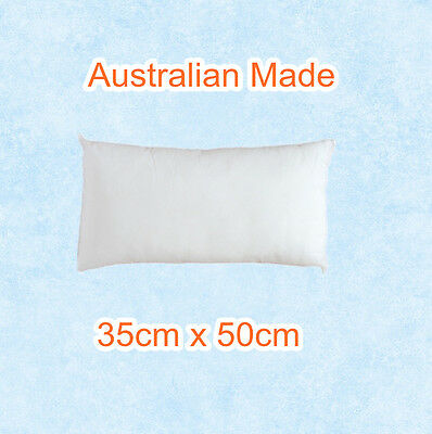 Aus Made New Cushion Inserts Premium Polyester Fibre Filling-35cm x 50cm