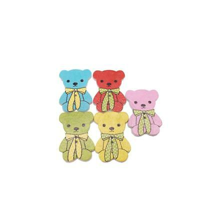 DRESS IT UP BUTTONS ~ A BEARY MERRY CHRISTMAS ~  3 CUTE CHRISTMAS BEARS